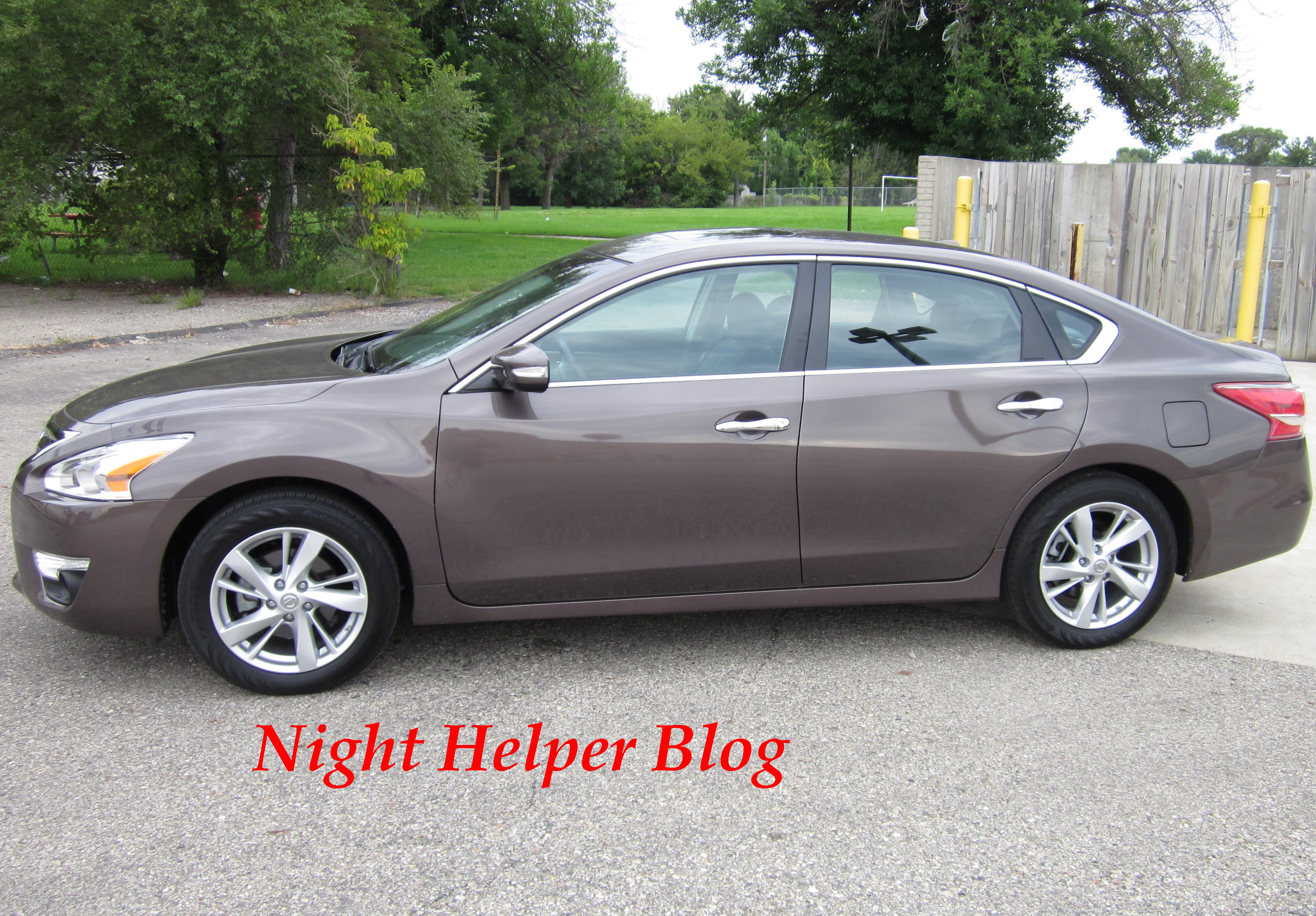 The 2013 Nissan Altima 2 5 SL Pure Drive review Night