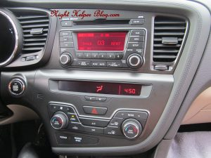 2013 KIA OPTIMA EX DASHBOARD