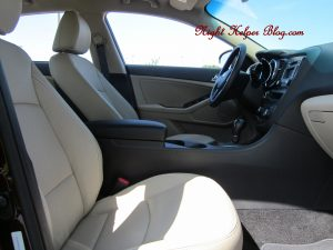kiaex front seats