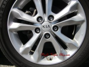 "2013 KIA OPTIMA EX 17"" Alloy Wheels"