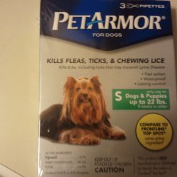 PETARMOR, helping to get rid of Ticks & Fleas and Chewing Lice!