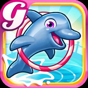 My Dolphin Show App Logo