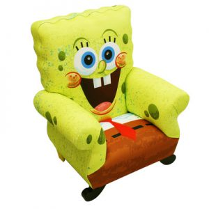 SpongeBob+Square+pants+Kids+Novelty+Chair