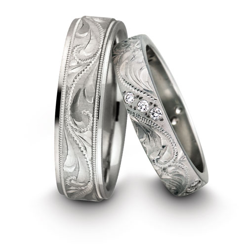 Making a Statement With Unique Wedding Bands Night Helper