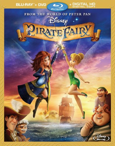 Disney's The Pirate Fairy on DVD April 1, 2014 review