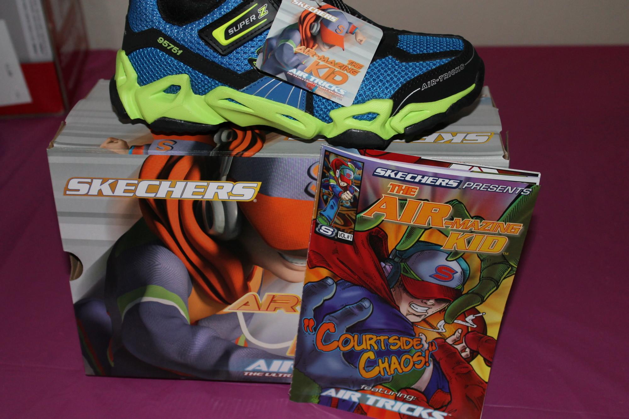 SKECHERS Kids Air-Mazing Kid Fierce Flex - Gravitron cool sneakers! #review