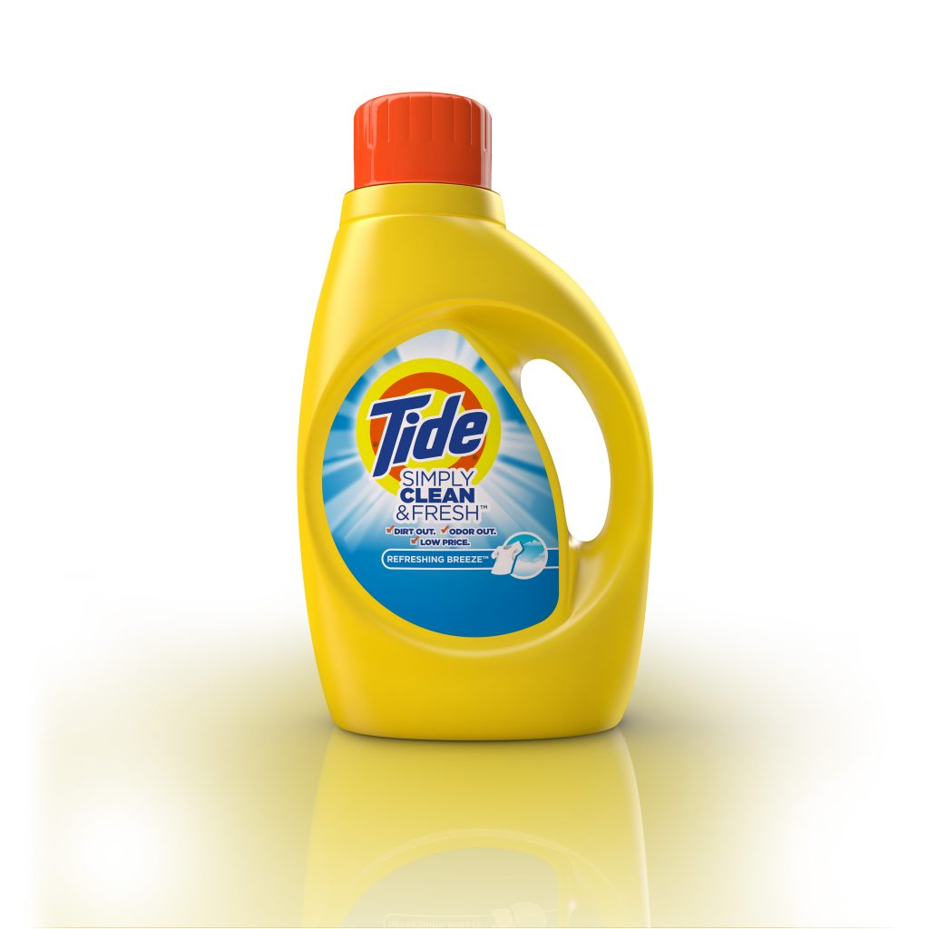Tide Simply Clean and Fresh cgi artwork