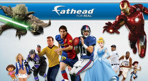 Fathead Cool Wall Graphics, bring your wall to life within minutes! #giveaway