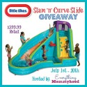 Little Tikes Slam 'n' Curve Water Slide Giveaway!!!