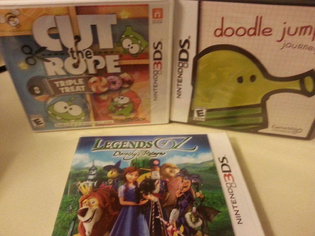 nintendo 3d games