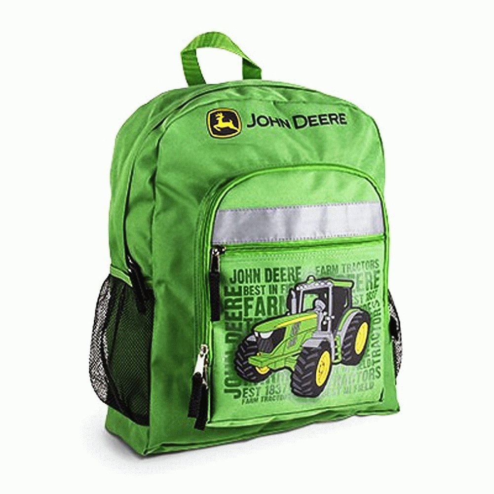 Back To School with John Deere Backpack.#Backtoschoolgiftguide