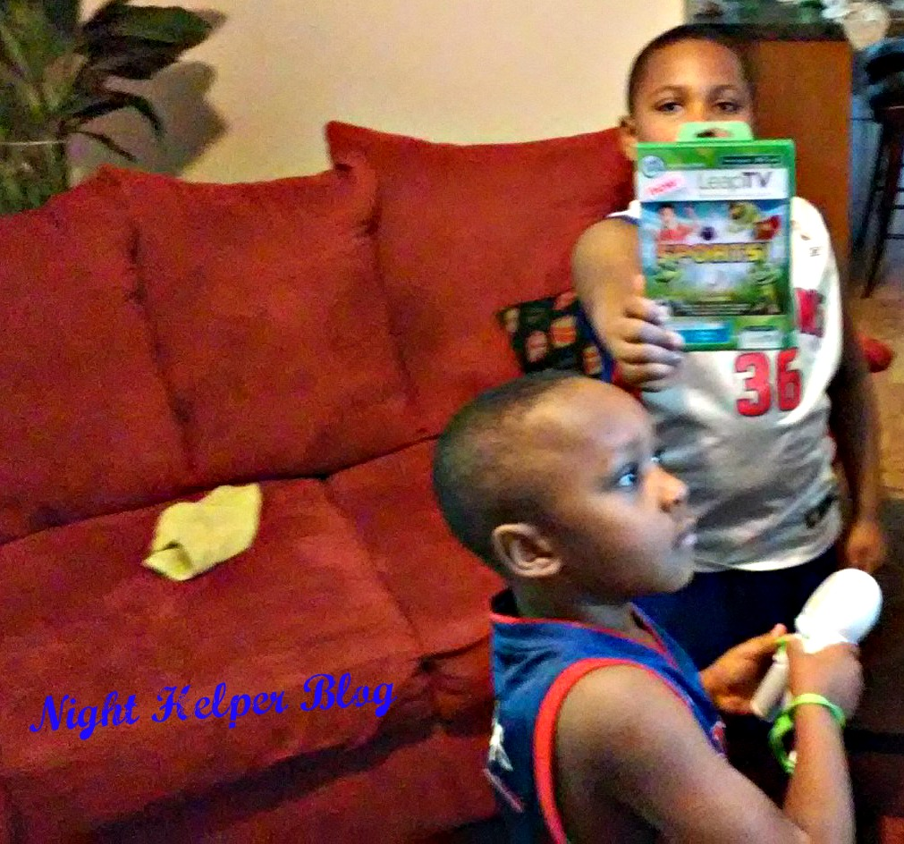 LeapTV Educational Active Video Gaming System#LeapFrog & MommyParties
