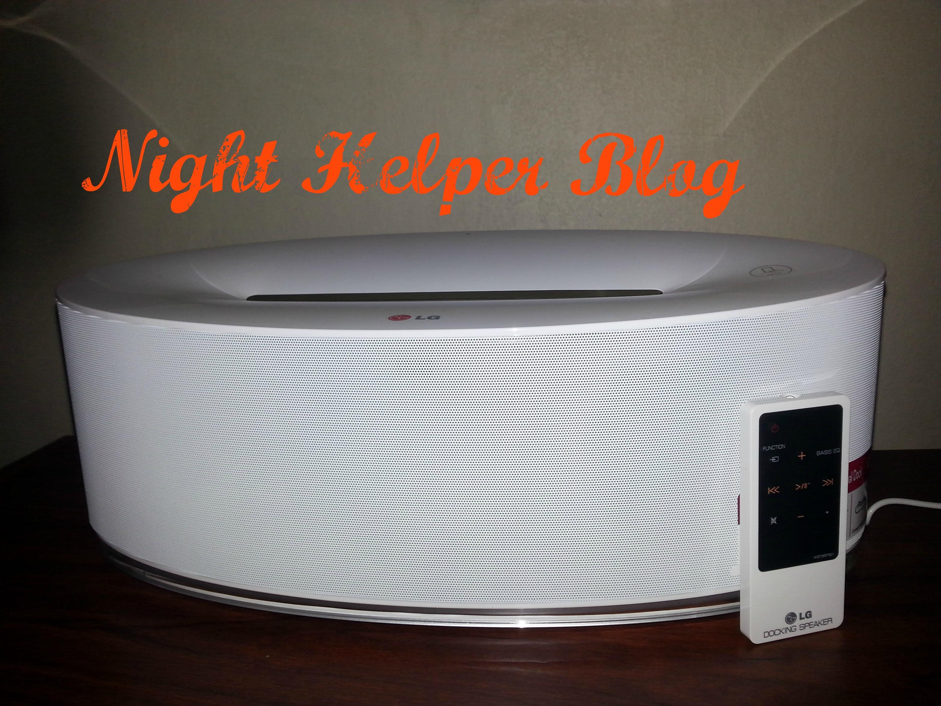 LG speaker 1