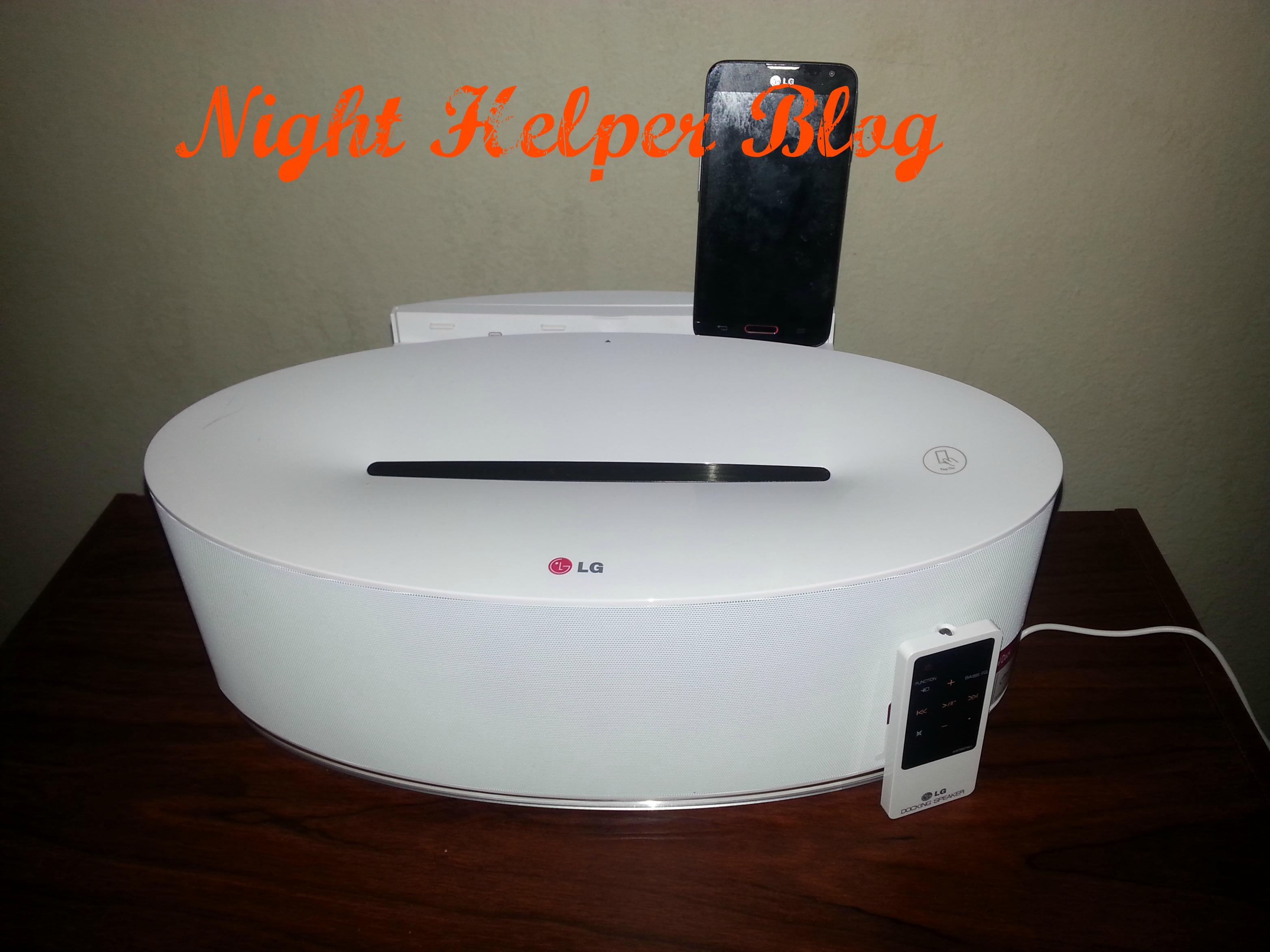 LG speaker 2