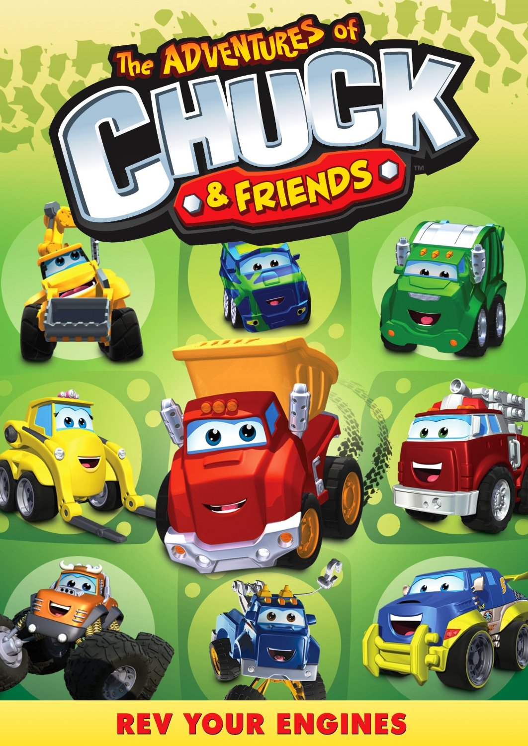 The Adventures of Chuck & Friends: Rev Your Engines DVD