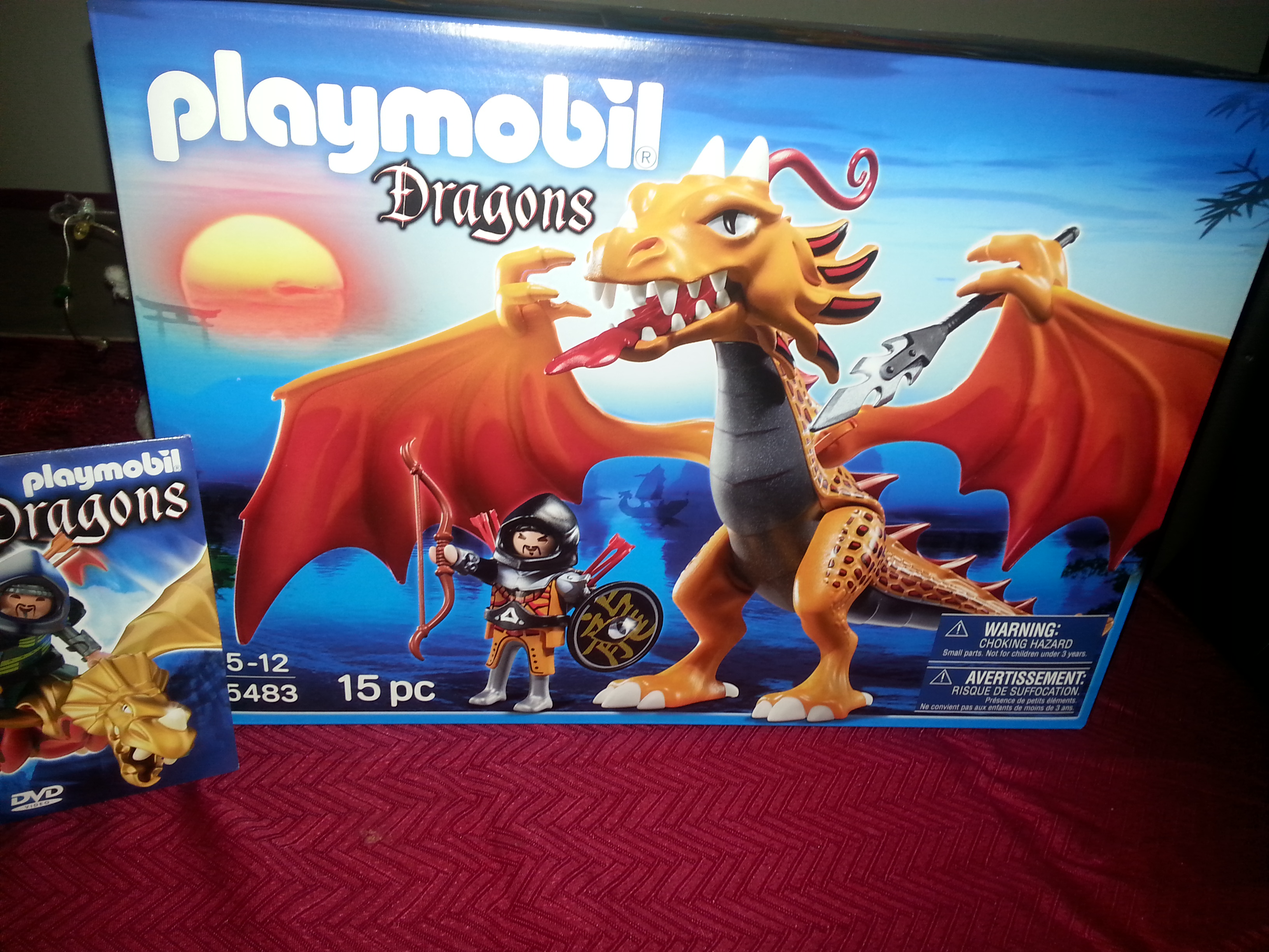 playmobile dragon