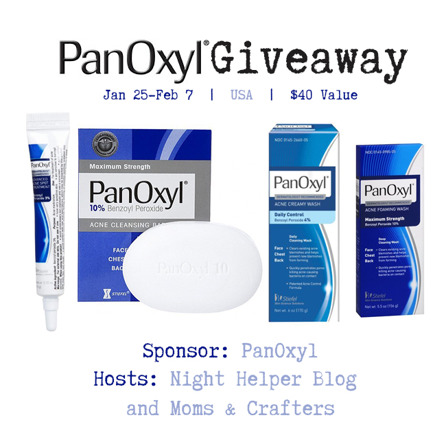 Panoxyl giveaway