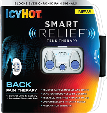 Panoxyl icy hot tens relief