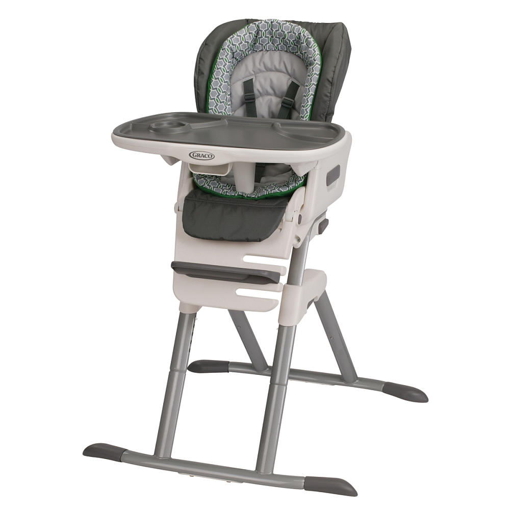 This is one cool high chair the graco swiviseat high