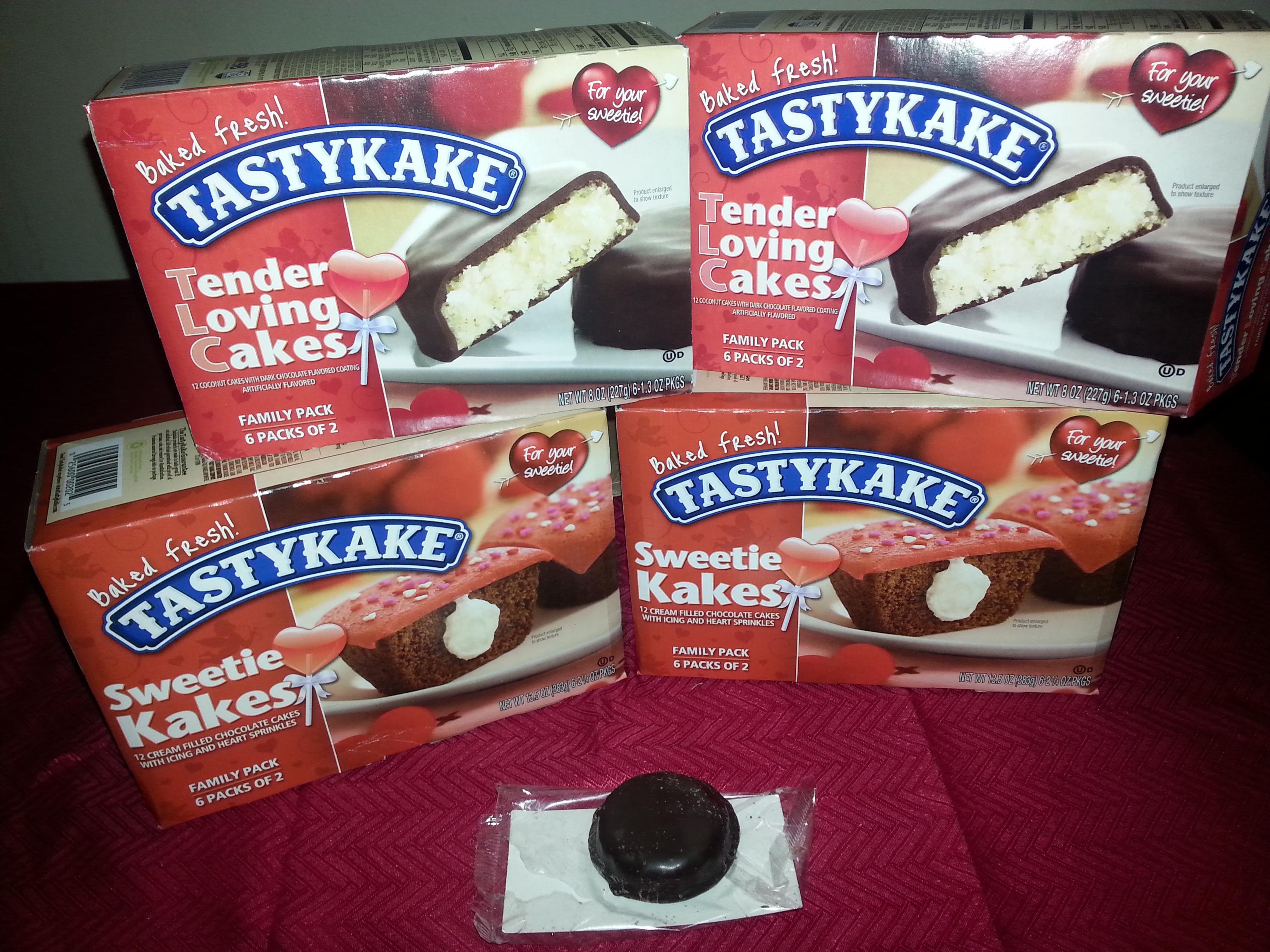 TastyKake Sweet Treats For Everyone! #ValentinesDay