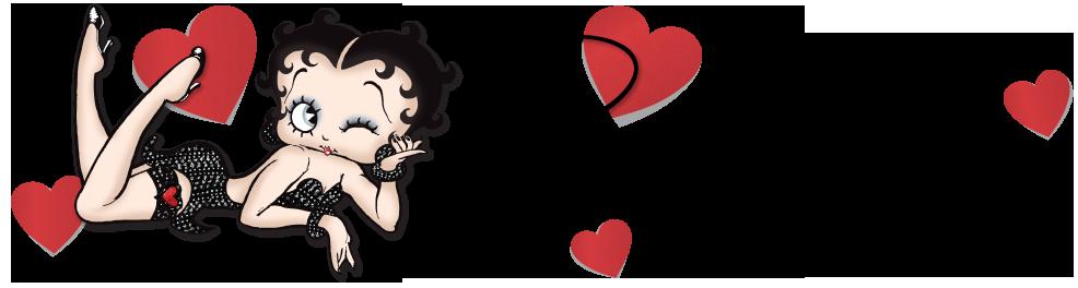 Happy Valentines Day from Betty Boop, Boop-Oop-a-Doop!