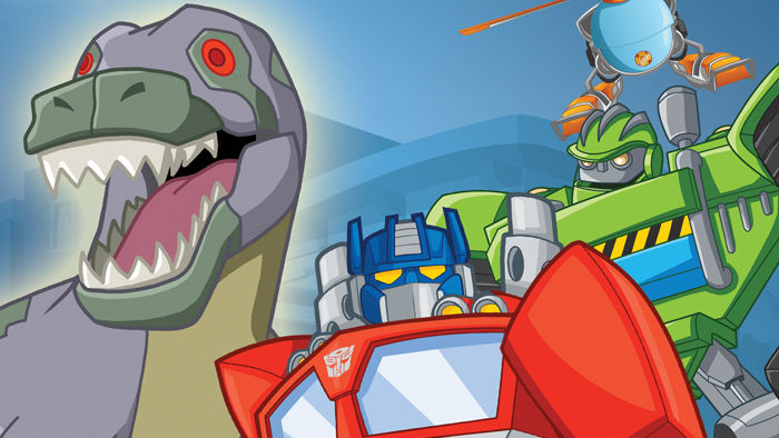 "Family Movie weekend with Shout Factory Transformers Rescue Bots ""Jurassic Adventure"" & SlugTerra ""SlugFu Showdown""!"