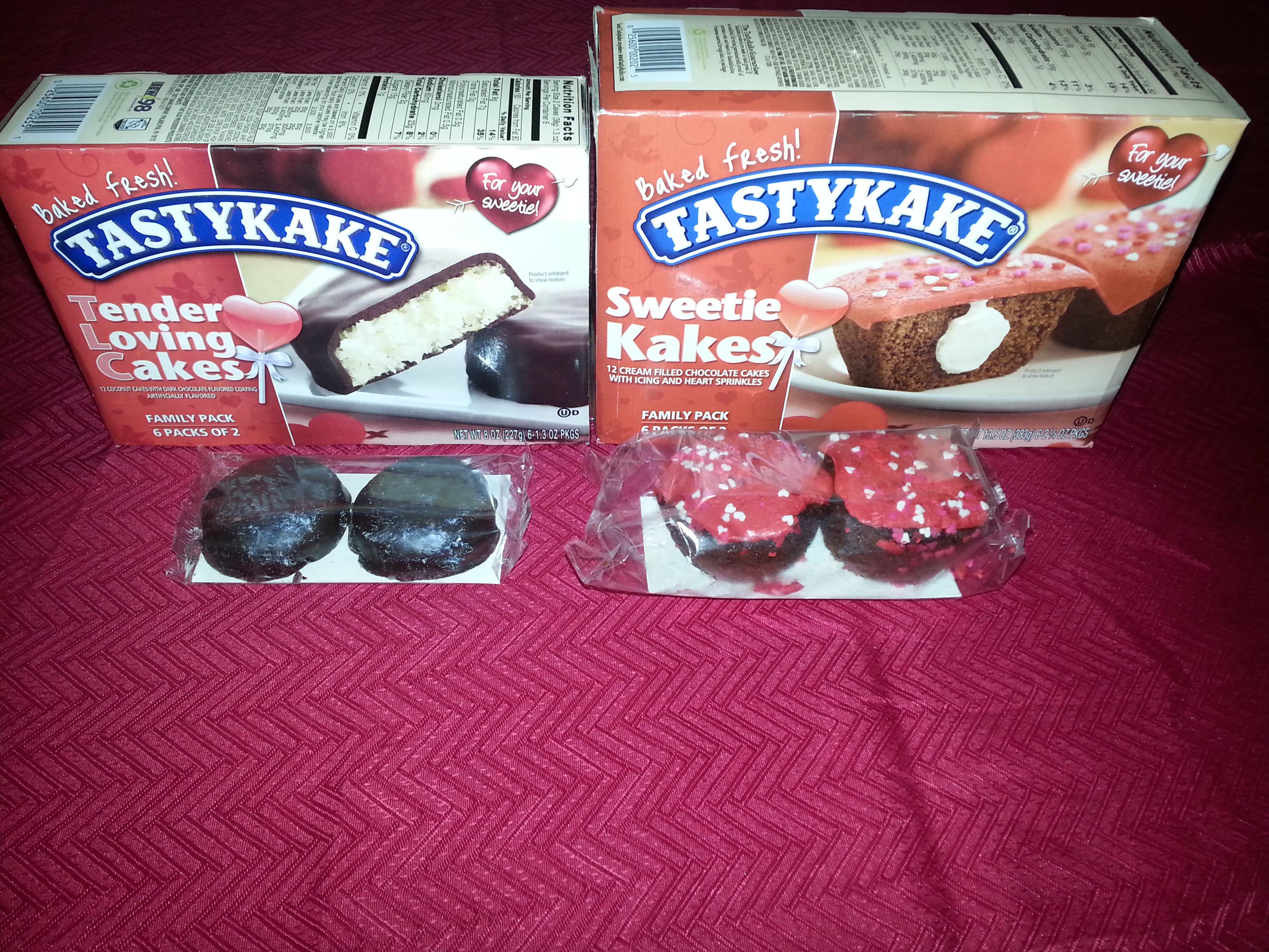 TastyKake Sweet #ValentinesDayGiveaway!