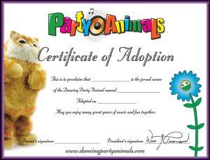 adoption party animals