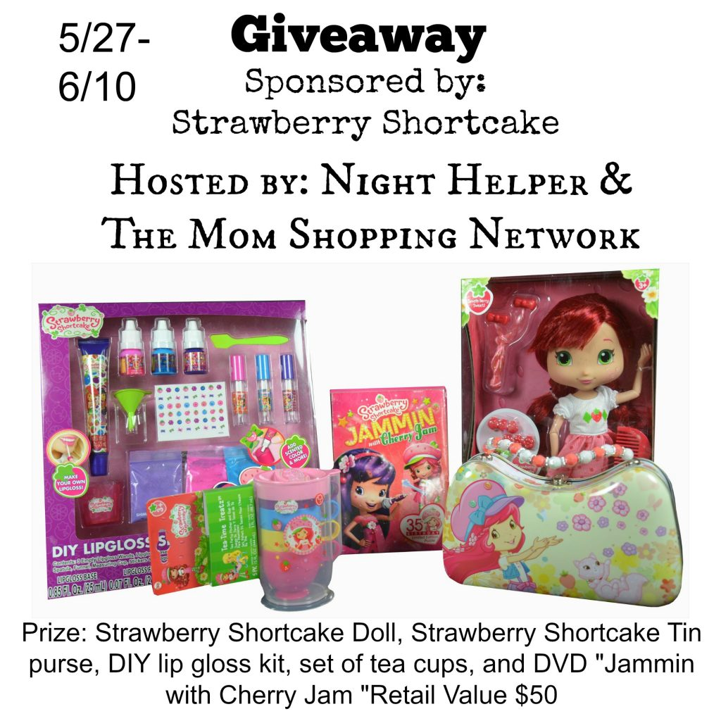 Strawberry Shortcake Giveaway
