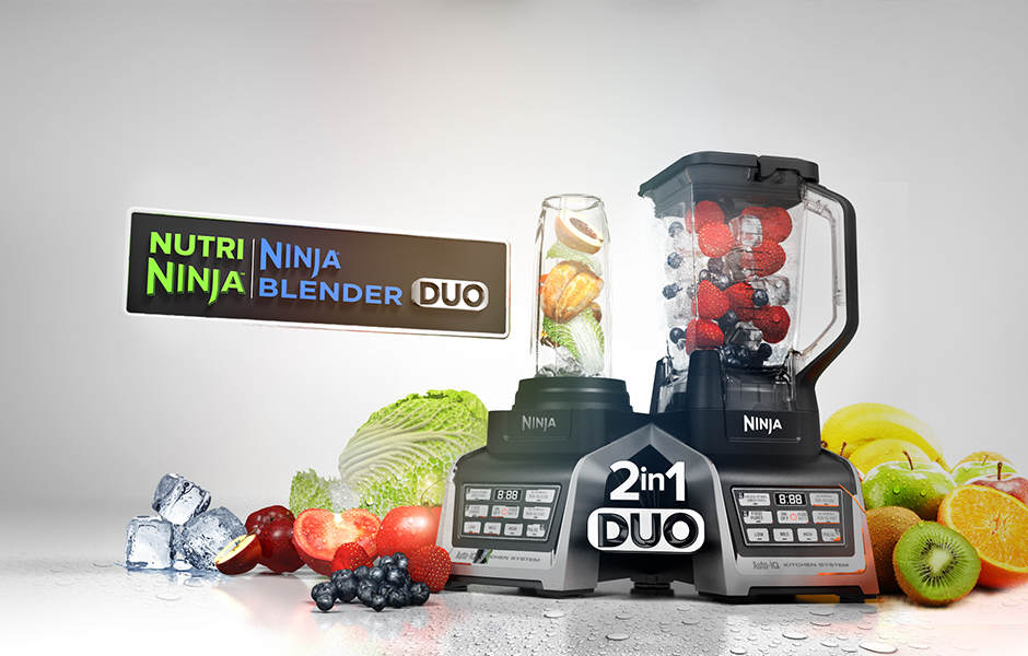 Happy Mother's Day From Nurti Ninja | Ninja Blender DUO with Auto-iQ