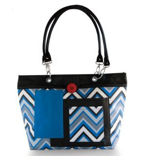 2015 Baby Shower Guide! #Chevron Stripes Rooster Diaper Bag