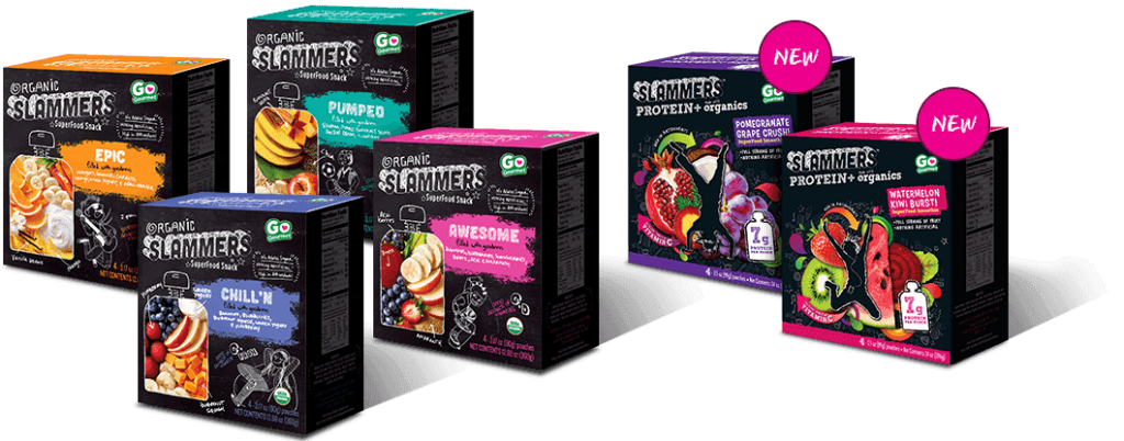 Snack Healthy With Slammers Organic Snacks