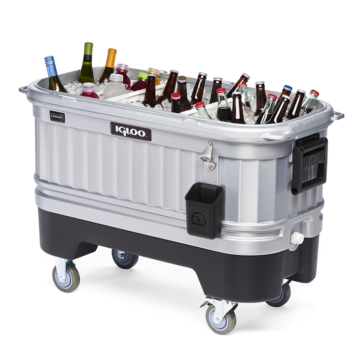 Let The Party Begin With This Cool Igloo Bar Cooler