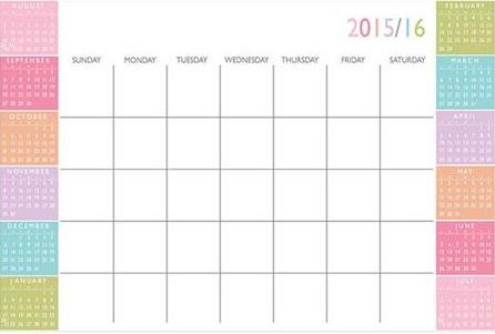 Wall Pops Calendar