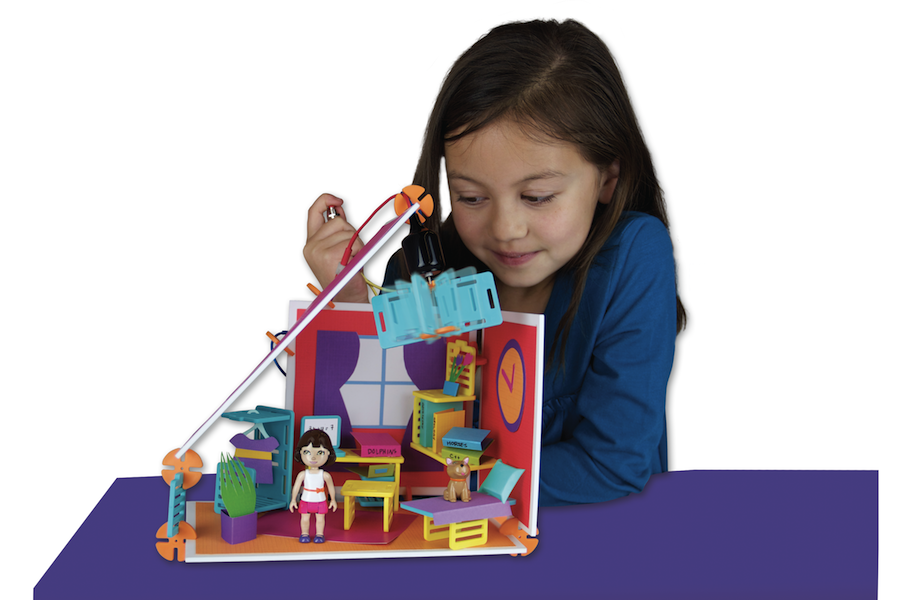 Best Imaginative Toys : Roominate the best imaginative play toys night helper