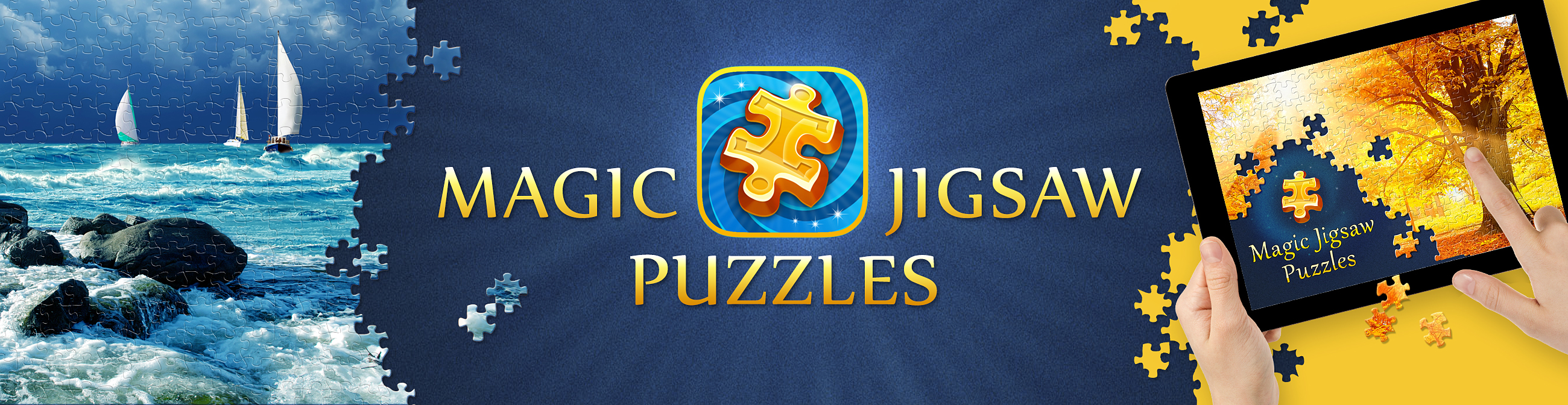 Magic jigsaw puzzles updates it 39 s app to iphone mom Magic app
