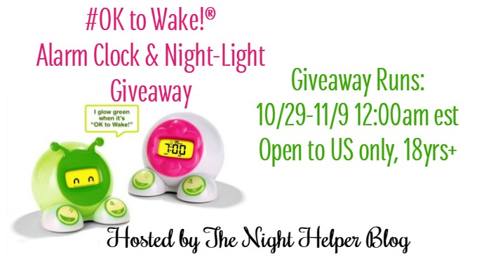 Ok To Wake Giveaway
