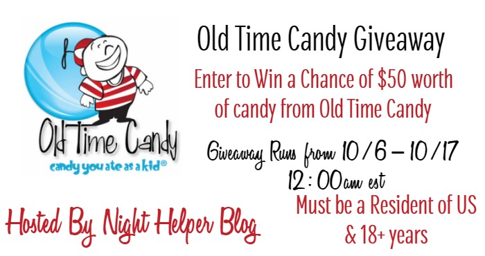 Old Time Candy Giveaway