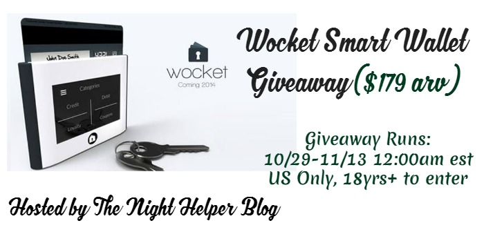 wocket smart wallet giveaway