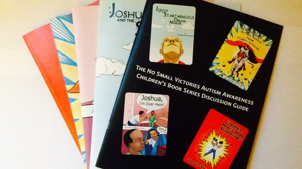 2015 Holiday Gift Guide.  No Small Victories book series ,Autism Awareness