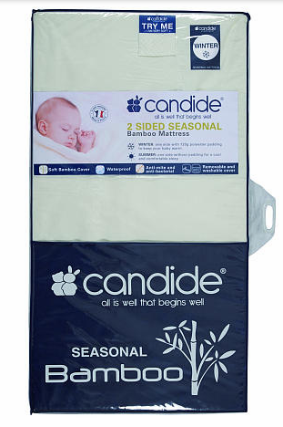 candide seasonal bamboo mattress