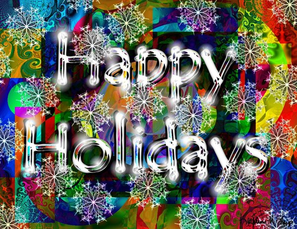 happy-holidays-colorful-background-snowflakes-graphic