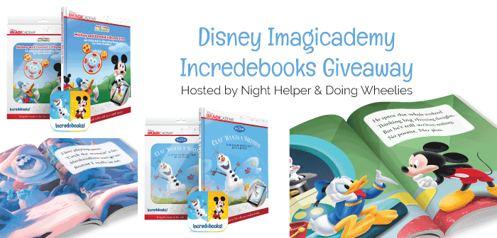 Disney Incredebooks Giveaway