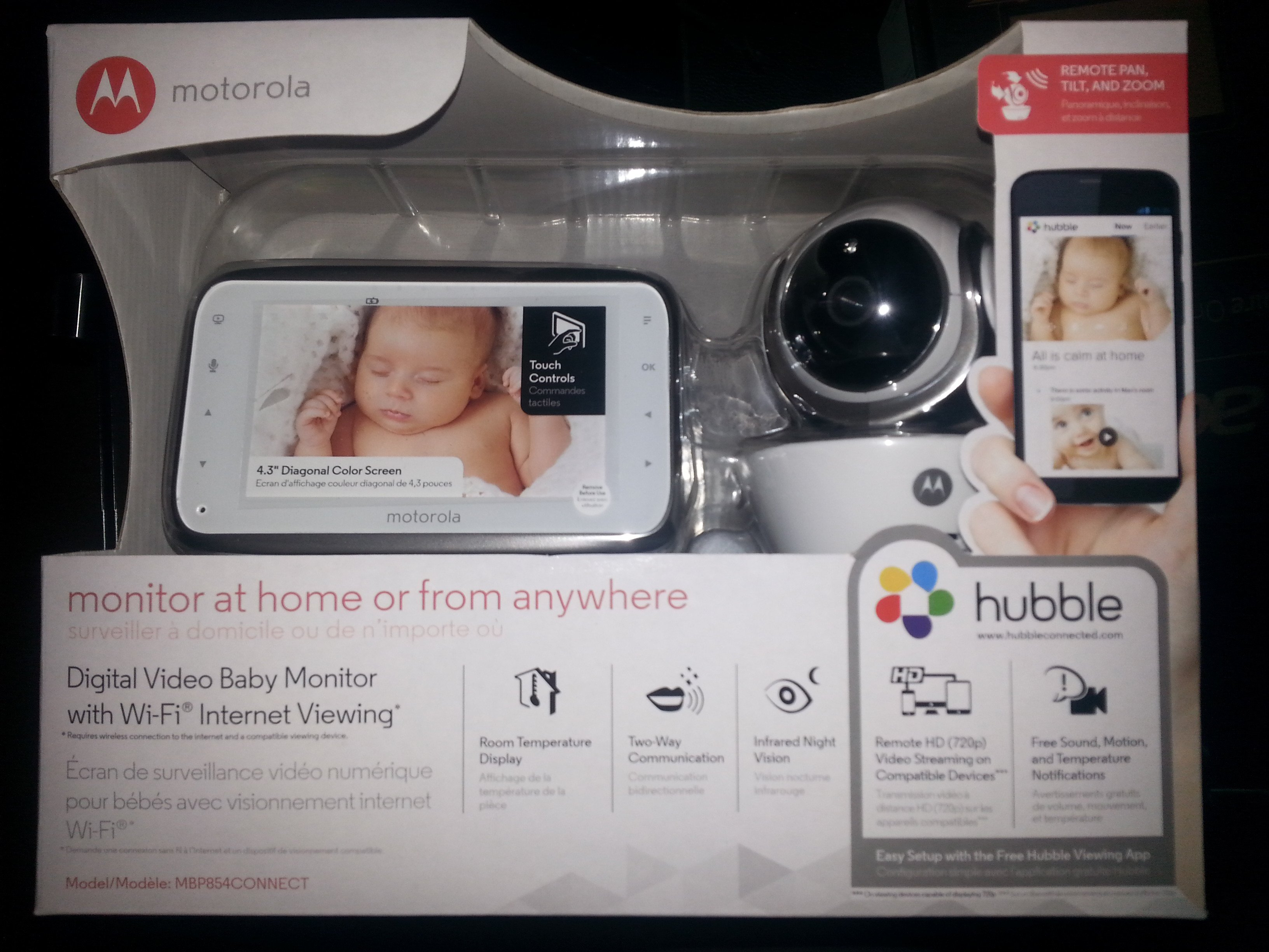 2015 Holiday Guide. Motorola Digital Video Baby Monitor, every home needs one!