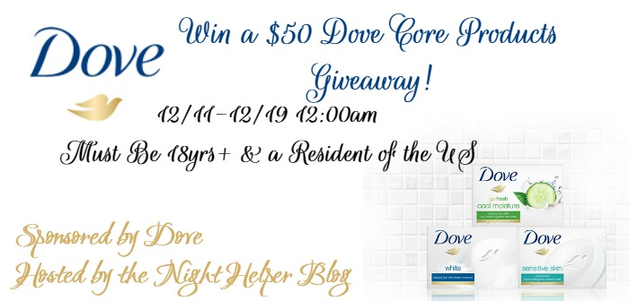 dove $50 giveaway