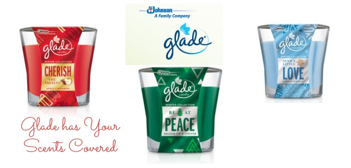 glade has your scents covered
