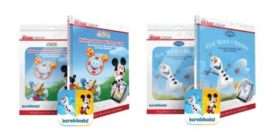 Bring Reading to Life with Incredebooks: Disney Edition