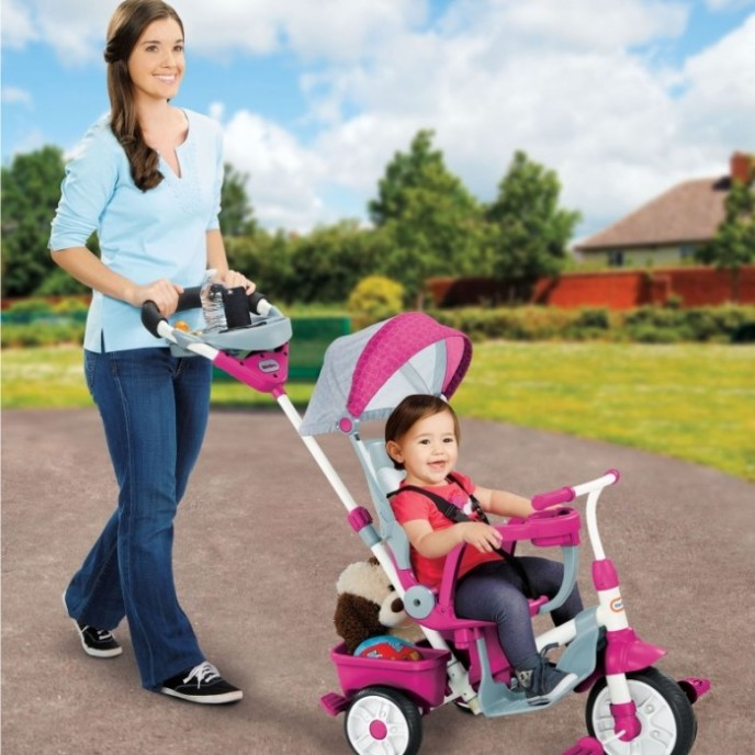 2015 Holiday Gift Guide. Little Tikes Perfect Fit 4-in-1 Trike, watch your little one ride in style this Holiday!