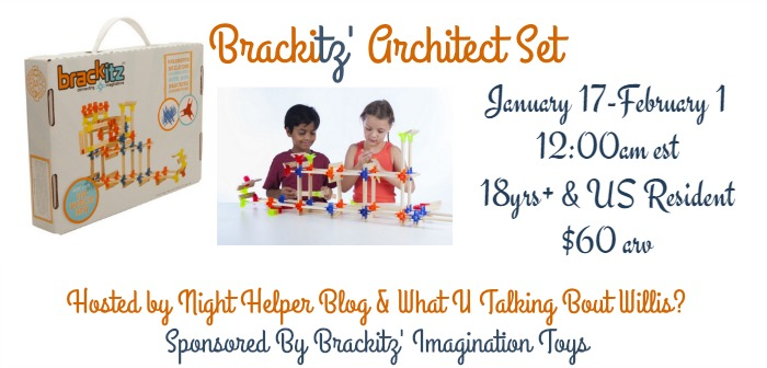 brackitz architect set giveaway
