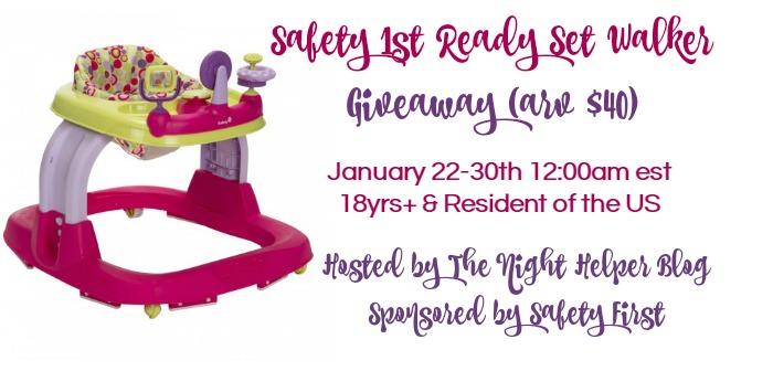 safety 1st ready set walker giveaway